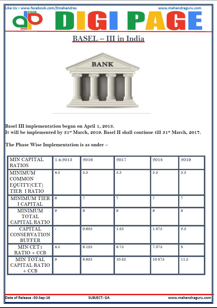 Basel iii pdf