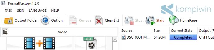 Mengonversi video atau lagu dari format yang satu ke yang lain ialah aktivitas yang membut Download Format Factory untuk PC/Laptop Gratis