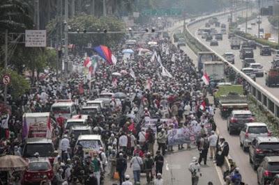 Aksi PA 212 Dkk Demo di Depan DPR Berbuntut Panjang
