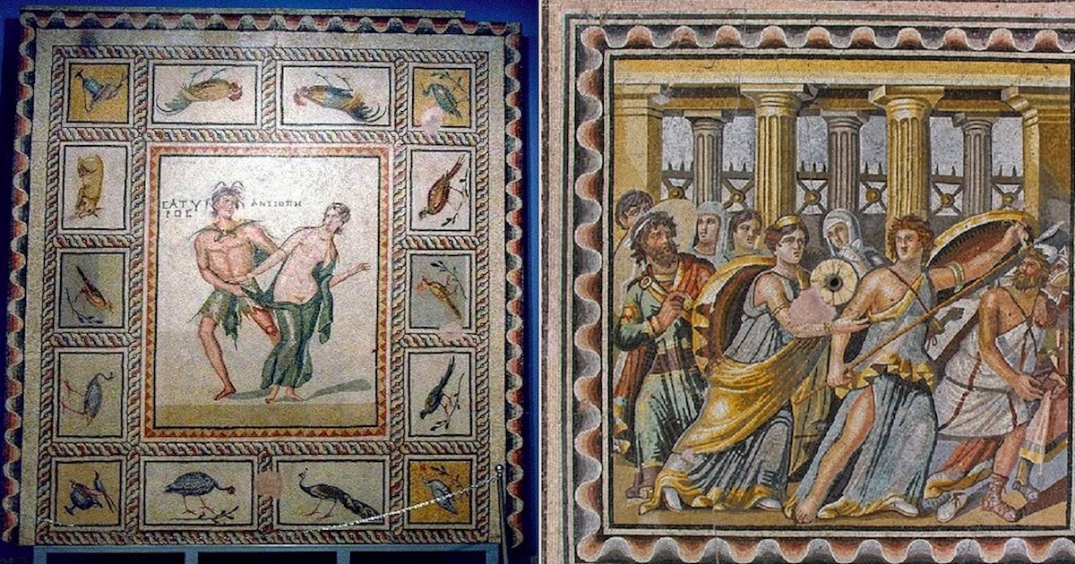 The Amazing Greek Mosaics Of Zeugma Were Saved By A Team Of Dedicated Archaeologists