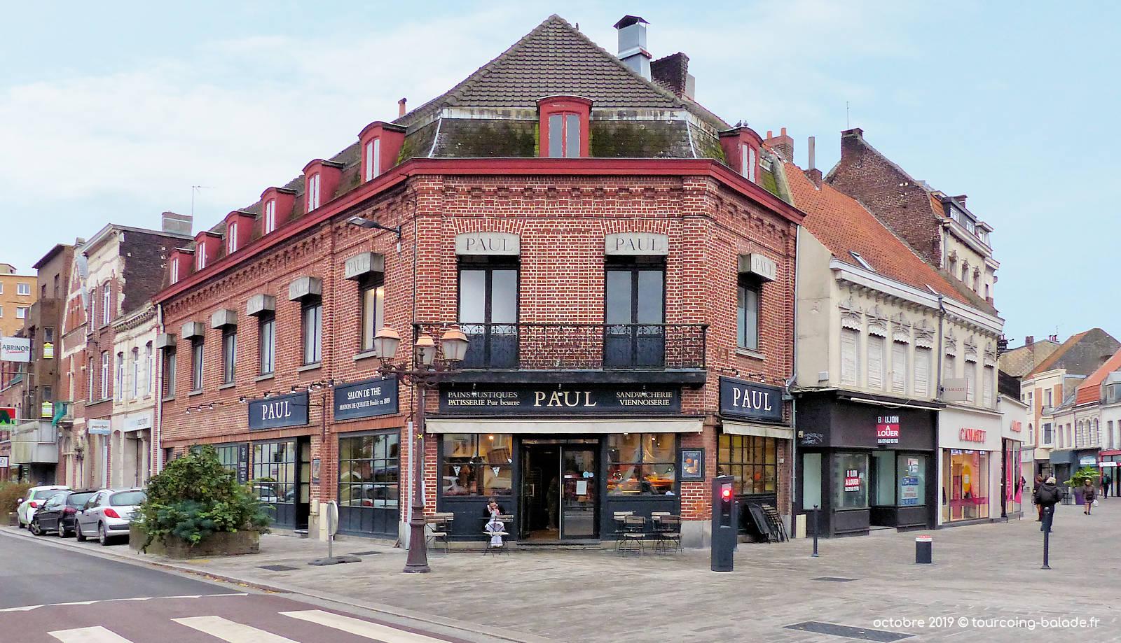 Boulangerie Paul, rue Saint-Jacques, Tourcoing.