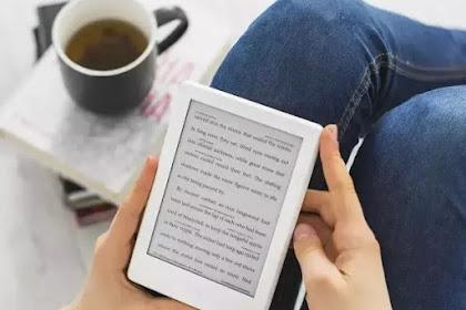 Zaman buku cetak akan berakhir ada gawai pengganti kertas di era baca digital