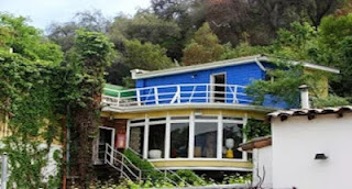 """""""La Chascona"""", Pablo Neruda's house in Santiago"""