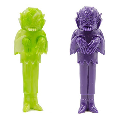 Craig Gleason's The Ghoul Ecto-Glow & Grave Digger Unpainted Edition Vinyl Figures by Justin Ishmael