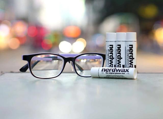 【好物推介】nerdwax 眼鏡防滑蠟 從此不用托眼鏡了