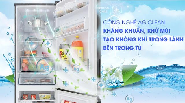 Tủ lạnh Panasonic Inverter 322 lít NR-BV368GKV2