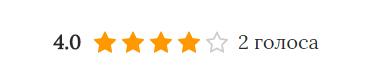 Виджет postratings, рейтинг постов и публикаций сайта Blogger, WordPress, Joomla
