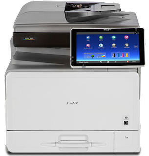 SPF printer you lot tin simplify your complex piece of occupation amongst the intuitive touching command panel together with  Ricoh MP C307SPF Driver Download