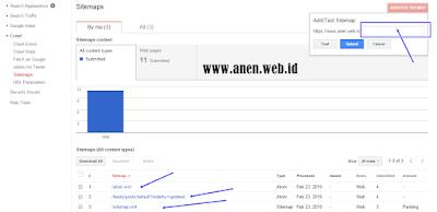 Cara daftar blog/website ke dalam Webmaster Tools