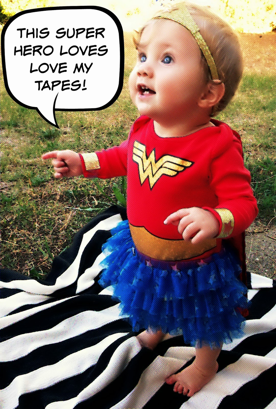 Wonder Woman Family Costume