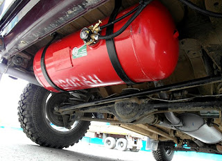 установка газового баллона в авто
