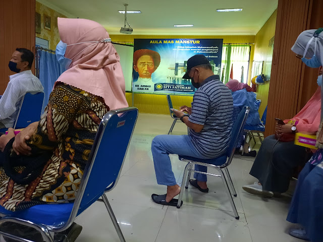pelaksanaan vaksin covid 19 di RS Aisyiyah Siti Fatimah Tulangan, vaksin astrazeneca