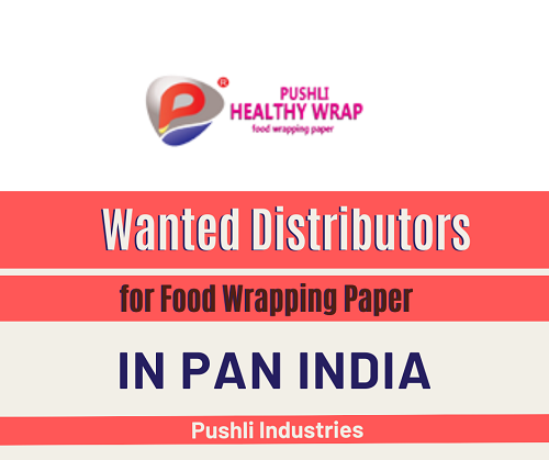 Wanted Distributors for Food Wrapping Paper in Pan India