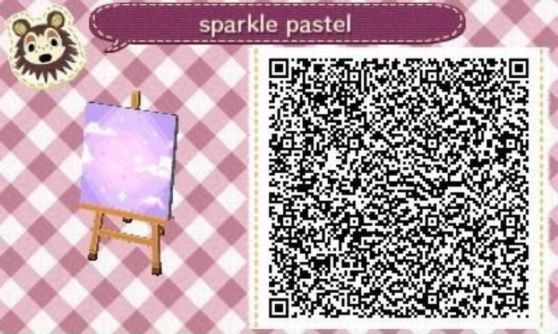 QR codes Animal Crossing pour papier peints ou sols