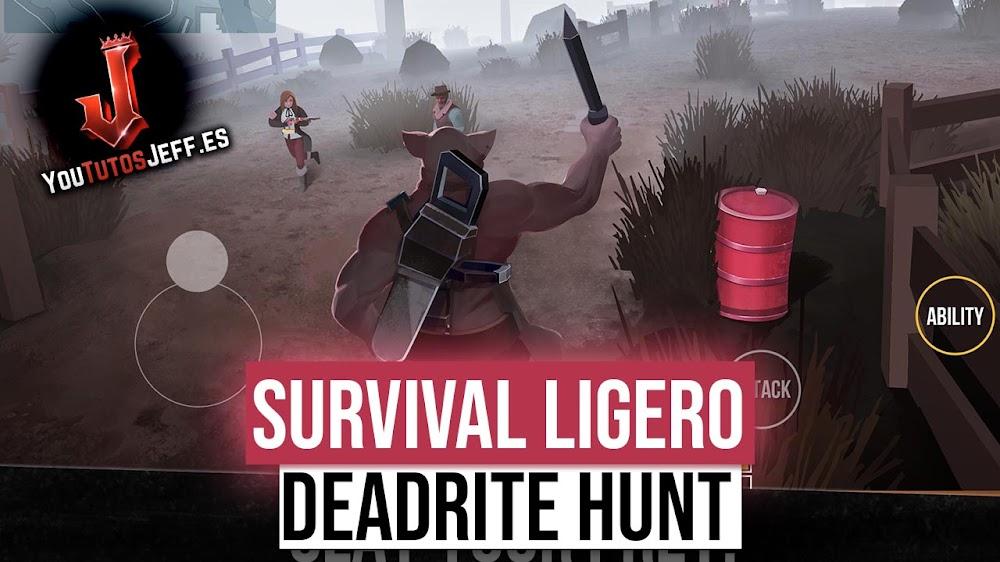 Brutal Survival Ligero para Android, Descargar Deadrite Hunt