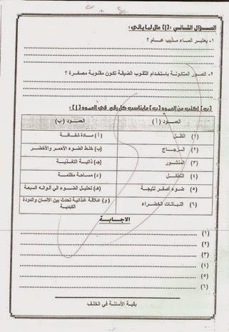امتحانات كل مواد الصف الخامس الابتدائي الترم الأول 2015 مدارس مصر حكومى و لغات هام%D