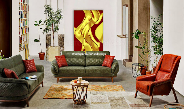 Golden-and-red-abstract-art-by-yamy-morrell