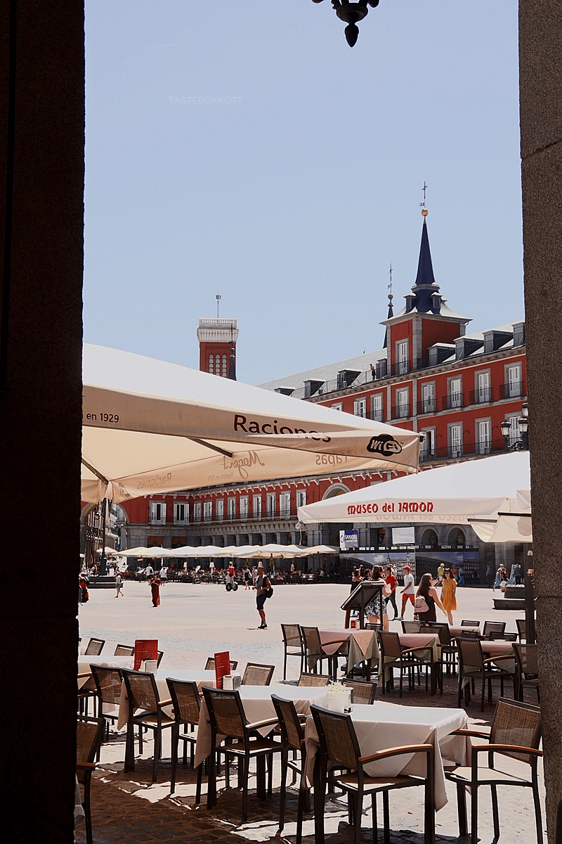 Plaza Mayor in Madrid, Spanien // Plaza Mayor Madrid, Spain