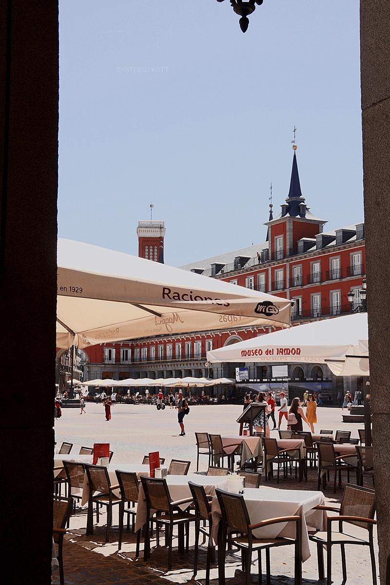Plaza Mayor in Madrid, Spanien // Plaza Mayor Madrid, Spain