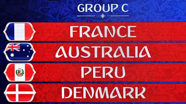 France World Cup 2018 Group C