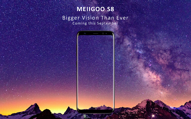 Meiigoo S8 with 3D curved glass in a Bezel-less design, 8GB RAM, Octacore processor to unveil in September