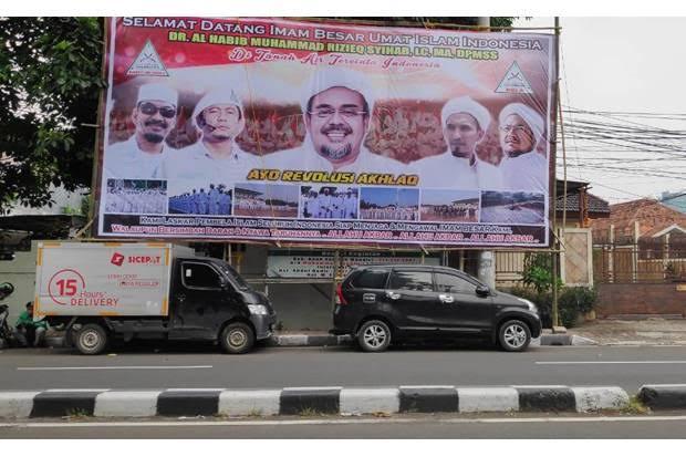 FPI dan PA 212 Siapkan Penyambutan Khusus Habib Rizieq Pulang Awal November