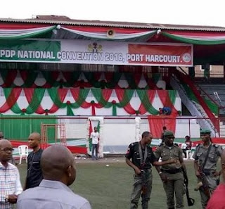 Police Shutdown Ready-made PDP National Convention Venue; Why We Sealed The Venue - Police Reacts