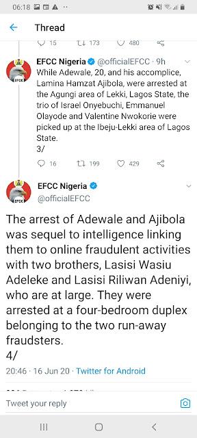 influencer ade herself arrested