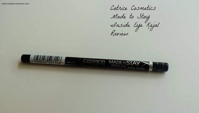 Catrice Cosmetics Made to Stay Inside Eye Khol Kajal in the shade 010 Come Black and Stay