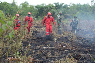 Turun Hujan Membantu Pencegahan Karhutla di Riau