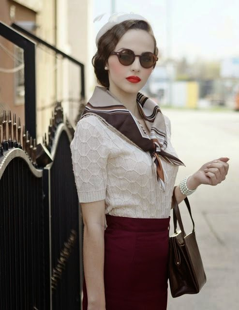 The Real And The Inspired By 1940s Fashion: La Bouilloire Noire: 1920s- 1940s Inspired Fall Fashion