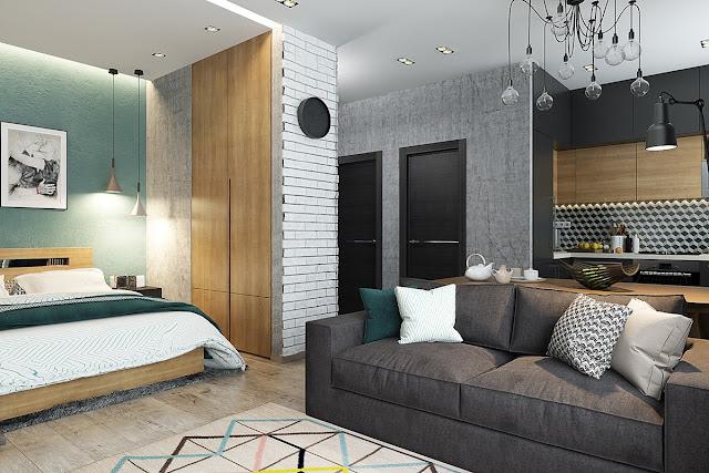 Denah Desain Interior Rumah Elegan