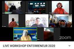 Cetak Jiwa Enterpreneur, SMK Muhammadiyah Kota Magelang Hadirkan 2 Pengusaha Melalui Webbinar