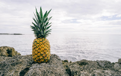 yellow pineapple widescreen resolution hd wallpaper