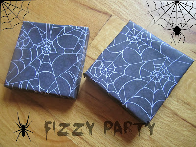 DIY invitation, Halloween, Michaels crafts, Joanns crafts, spider party