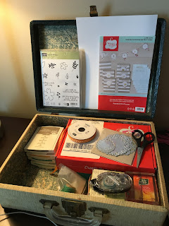 Here is the Spread Joy Stamping suitcase to go!