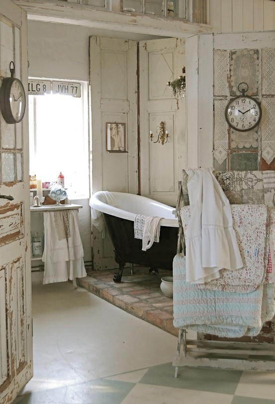 Colorful Boho Bathroom
