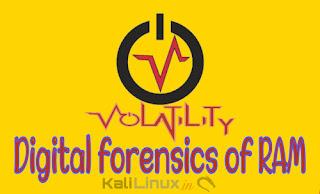 volatility tutorial kali linux forensics testing of ram