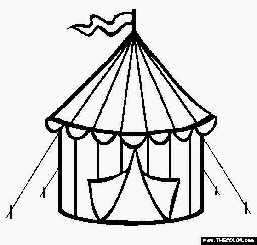 Camping Cartoon Pictures Clipartsco Sketch Coloring Page