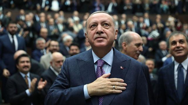 """Ερντογάν: """"Η Τουρκία δεν μπορεί να περιορίζεται στα σύνορά της"""""""