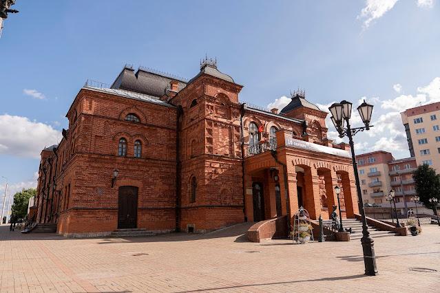 Mogilev Theater Brick Belarus