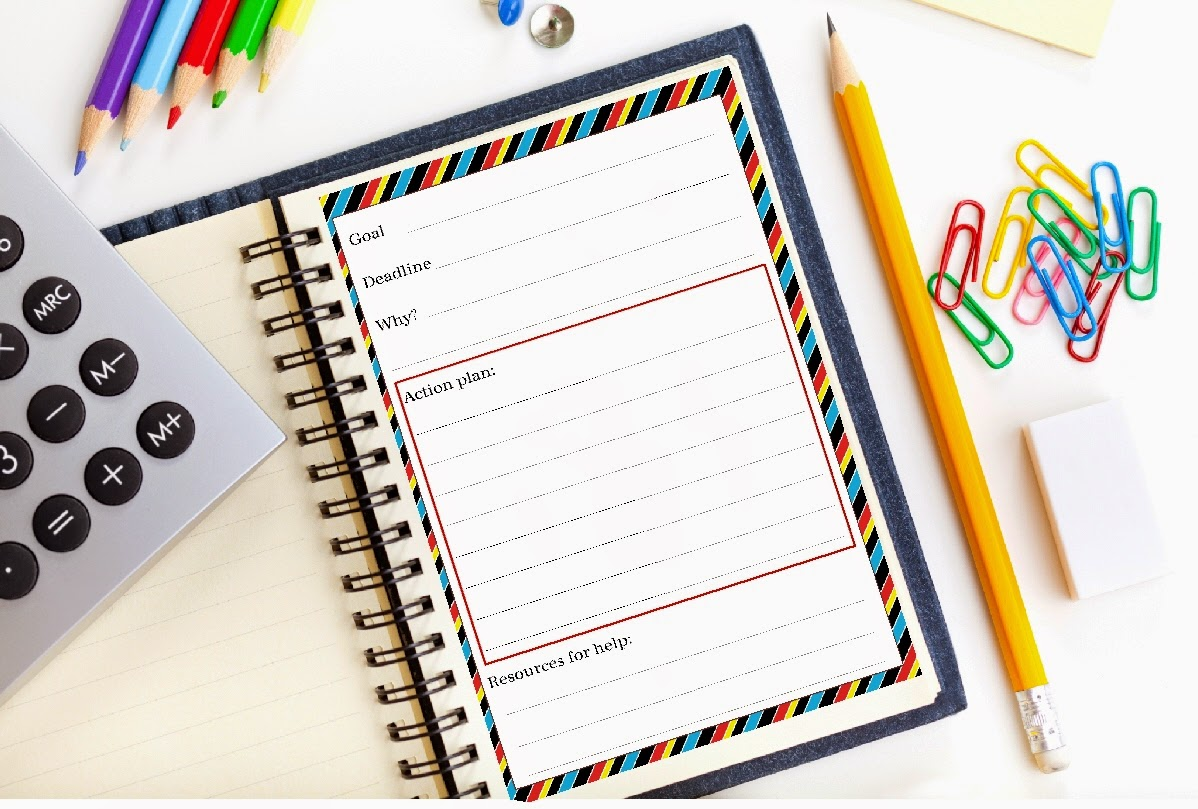 New Years Resolution Goal Planning Worksheet