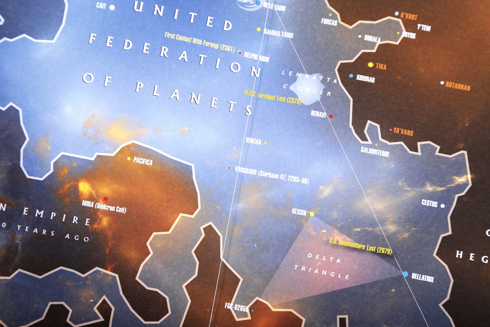 The Trek Collective Review Stellar Cartography