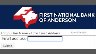 Login First National Bank of Anderson Online Banking
