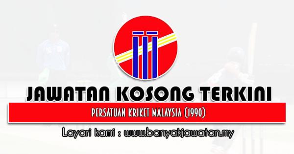 Jawatan Kosong 2021 di Persatuan Kriket Malaysia (1990)