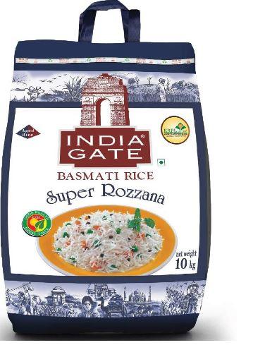 India Gate Basmati Super Rozzana, 10 kg