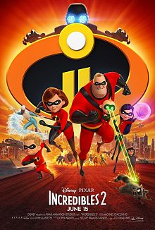 Sinopsis pengisi suara genre Film Incredibles 2 (2018)