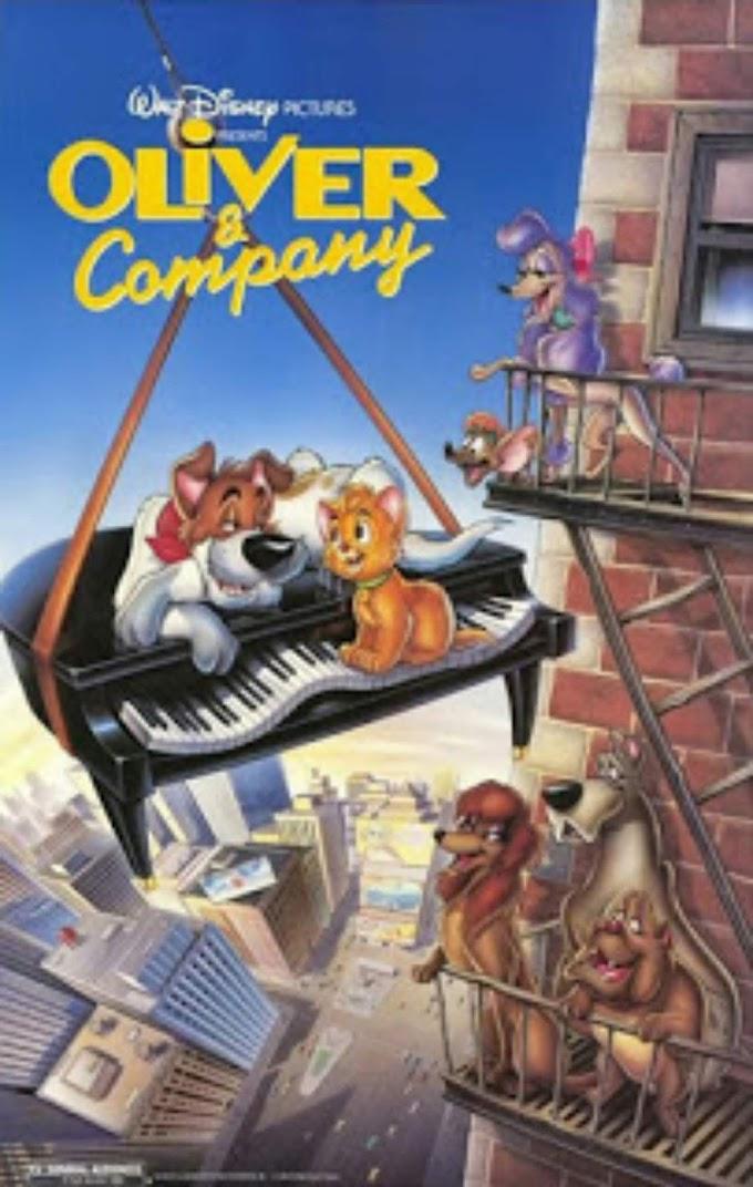 Oliver & Company (1988) Hindi Audio 720p,480p