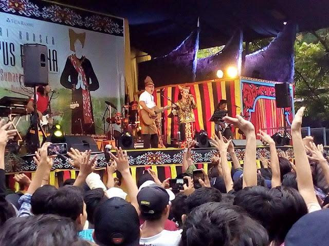 Konser Panggung Kita, Seri Situs Budaya Sumatera Barat