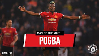 Pogba Man of the Match Derby Manchester
